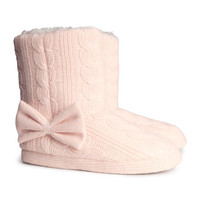 H&M - Knit Slippers