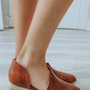 Above Average Booties - Cognac
