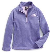 The North Face Girl's 'Agave' Hardface Fleece Half Zip Jacket,