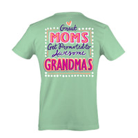 Itsa girl Thing Funny Great Moms Get Promoted to Awesome Grandma Southern Bright Girlie T-Shirt