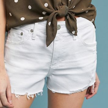 AG The Bryn High-Rise Cutoff Denim Shorts