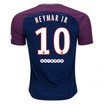 NEYMAR #10 FC Paris Saint-Germain 2018 Home Jersey -Blue/Red
