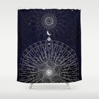 Reveal Shower Curtain by DuckyB (Brandi)
