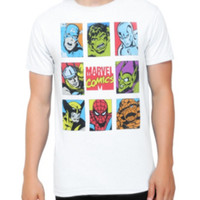 Marvel Comics Retro Characters T-Shirt