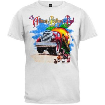 PEAPGQ9 Allman Brothers - Road Goes On T-Shirt