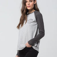 ELEMENT Tiger Womens Raglan Tee | Graphic Tees