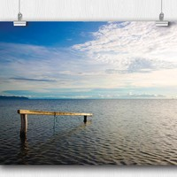 Moonsoon over Lake Tanganyika Poster