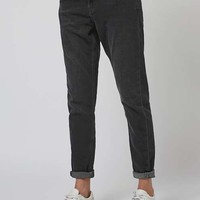 MOTO Washed Black Lucas Jeans - New In