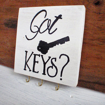 Wall key rack-Key rack-Key organizer-Key hanger-Wood key organizer-Wall key holder-Housewarming gift-Entry way organizer-Christmas gift