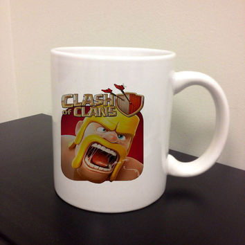 Clash of Clans Coffee Cup, Custom mug