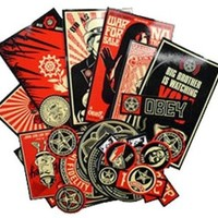 Assorted Sticker Pack by Obey Clothing