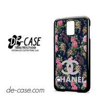 Floral Chanel 1 For Samsung Galaxy S5 Case Phone Case Gift Present YO
