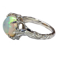"""Opal Tree"" Ring by Blue Bayer Design (Sterling Silver)"