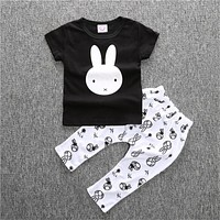 Baby Romper Fashion Baby Boy Clothing Sets Short Sleeve Newborn Baby Clothes Infant Jumpsuits T-shirt Pants
