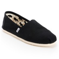 Toms Shoes Men's Classic Black Shoes