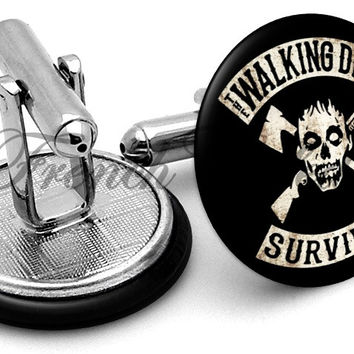 Walking Dead Survivor Cufflinks