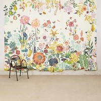 Great Meadow Mural by Anthropologie in Yellow Size: One Size Wall Decor