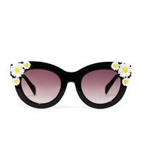Daisy Cat-Eye Sunglasses