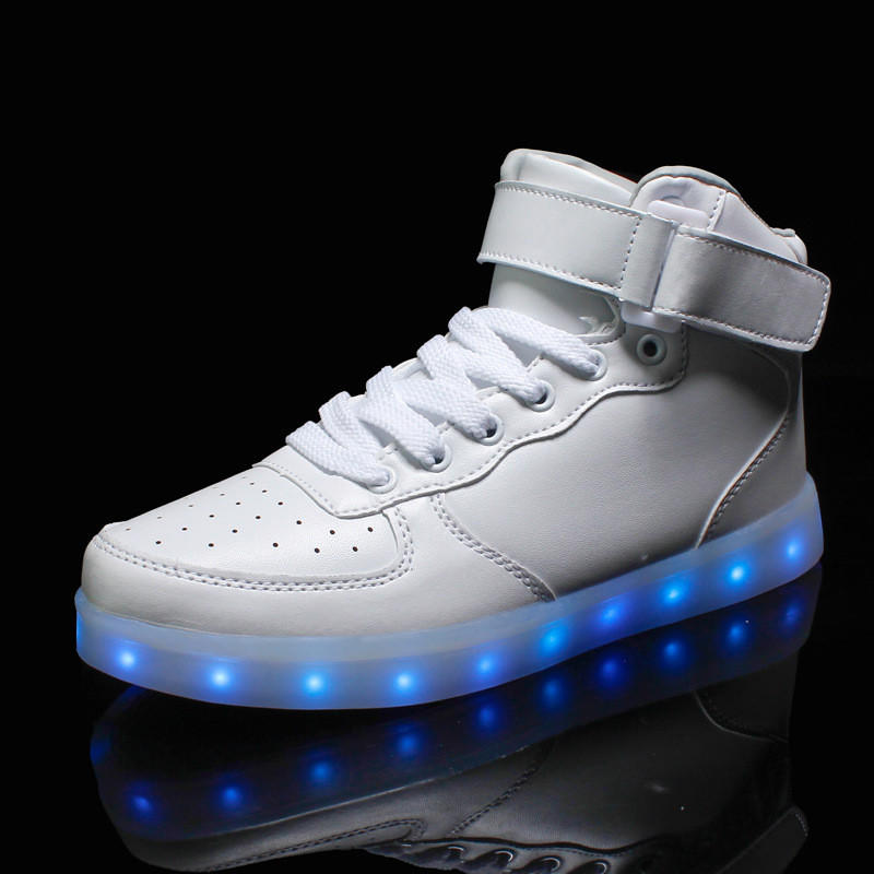 Led Sneakers Air Force High Top