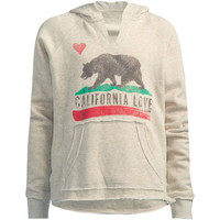Billabong Day Away Girls Hoodie Oatmeal  In Sizes