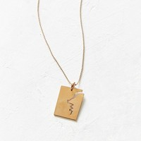 Oxbow Designs Silhouette Pendant Necklace | Urban Outfitters