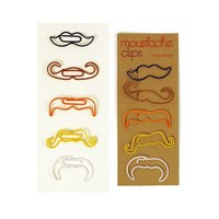 Moustache Clips ? ACCESSORIES -- Better Living Through Design