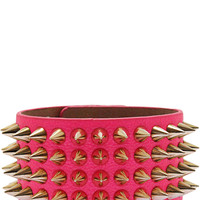 Queen of Spikes Bracelet in Hot Pink – bandbcouture.com