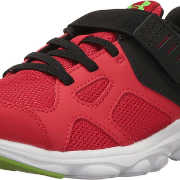 Under Armour Kids' Boys' Pace Ac Running-Shoes Red/Black/Hyper Green Little Kid (4-8 Years) 1 Little Kid M '