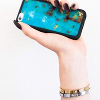 Wildflower Turquoise iPhone 6 Case