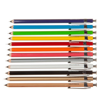 Delfonics Mechanical Wood Pencils