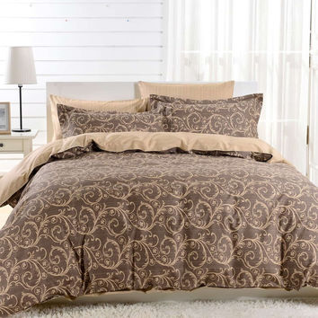 Duvet Cover Sheets Set, Dolce Mela Bolzano Queen Size Bedding