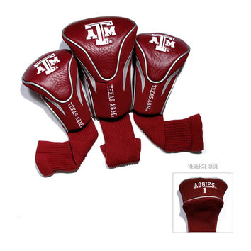 Texas A&M Aggies NCAA 3 Pack Contour Fit Headcover