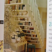 spaces / under the stairs - great use of hidden space
