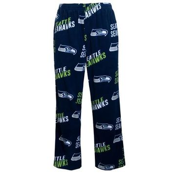 Seattle Seahawks Mens AOP Microfleece Pants