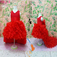 Girl Kids Children  Dresses Princess Wedding Dress = 1932246724