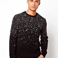 ASOS | ASOS Pixelated Pattern Jumper at ASOS