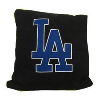 LA Dodgers Los Angeles recycled tshirt pillow throw by upcycled2