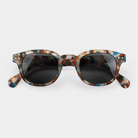 See Concept Blue Tortoise Sunglasses