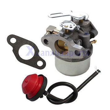 Carburetor W/ Primer Bulb For Tecumseh 632378 632378A Toro 3521 Snowblower 3.5hp