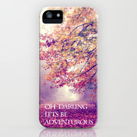oh darling, lets be adventurous iPhone Case by Sylvia Cook Photography | Society6