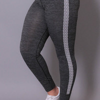 Plus Size Fast Track Girl Joggers - Charcoal