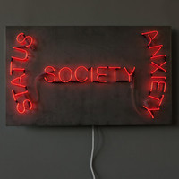 Society - Handmade neon sign