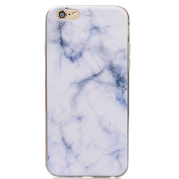 White Marble iPhone 7 7plus & iPhone se 5s & iPhone6 6s Plus Case Cover + Gift Box