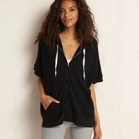 AERIE SUPERSOFT KNIT PONCHO