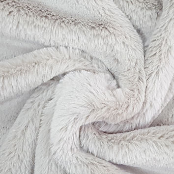"Fashion Faux Fur Fabric 57""-Cheshire Taupe 