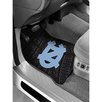 North Carolina Tar Heels NCAA Car Front Floor Mats (2 Front) (17x25)