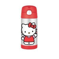 Thermos Funtainer 12 Ounce Bottle, Hello Kitty