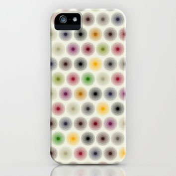 flower polka dot iPhone & iPod Case by musings