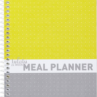Lulalu Meal Planner Grey Yellow