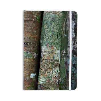 "Susan Sanders ""Into the Woods"" Brown Rustic Everything Notebook"